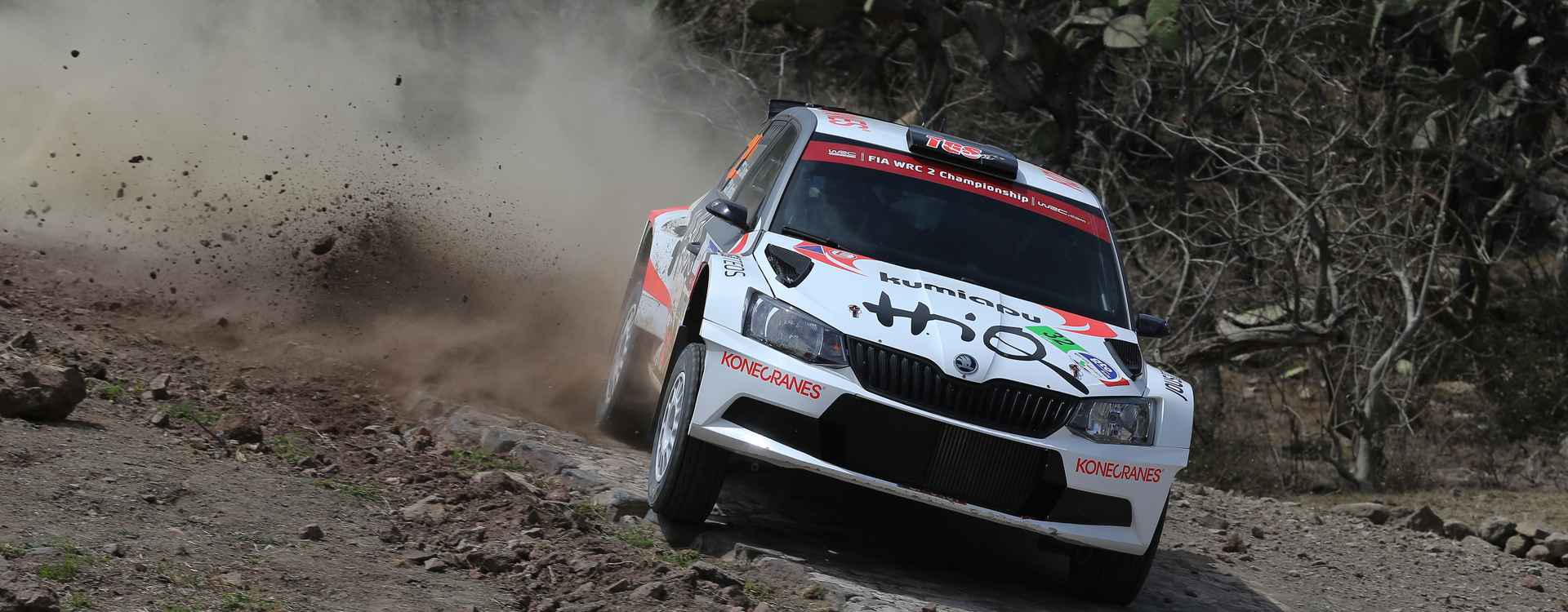 Suninen sweeps ŠKODA Fabia R5 to WRC 2 win in Mexico