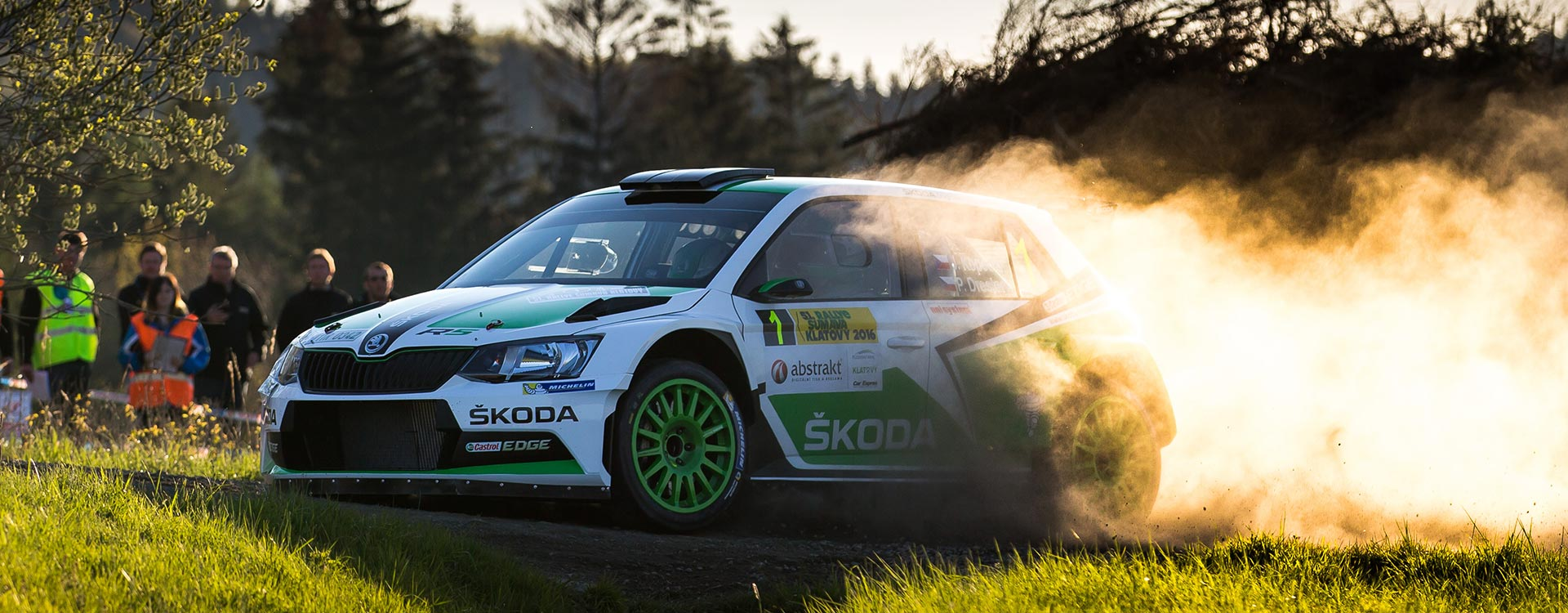 PHOTO: ŠKODA Motorsport at the Rallye Šumava Klatovy