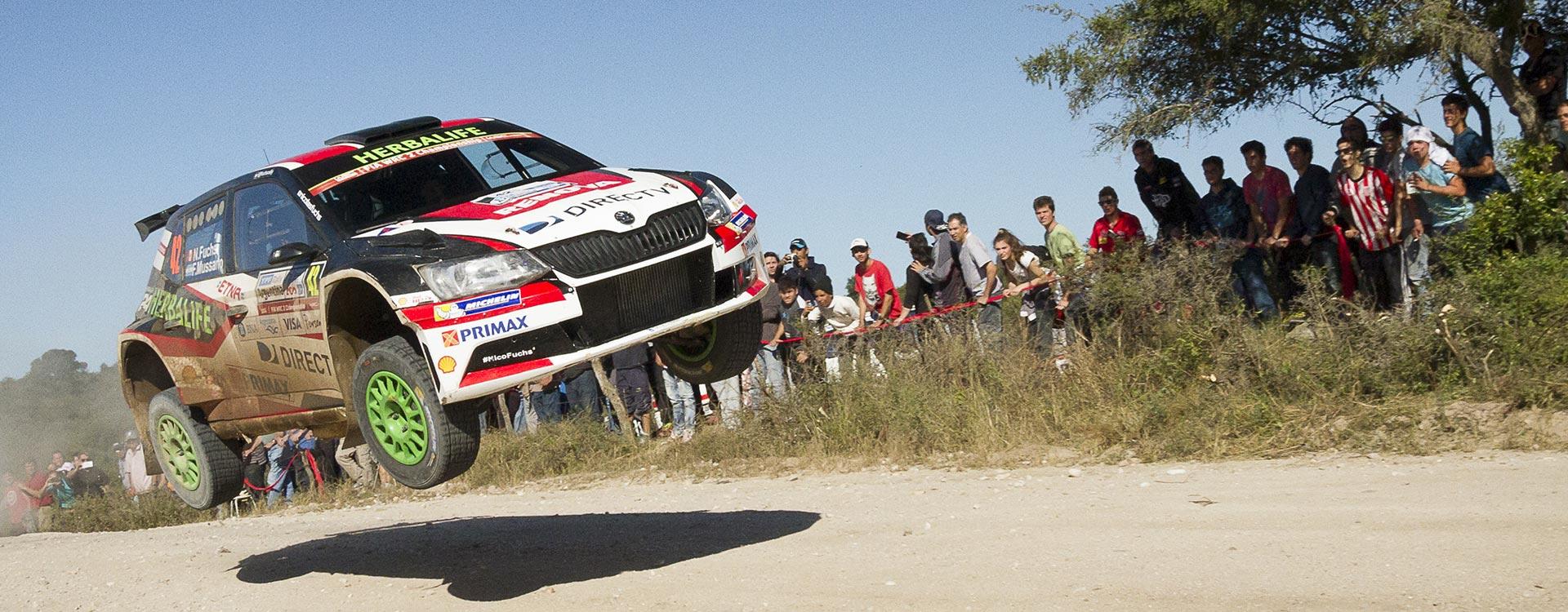 WRC Argentina: Druhé vítězství vozu ŠKODA Fabia R5 ve WRC2 v řadě