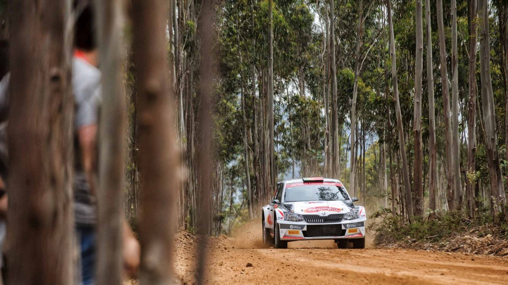 Miguel Campos / Carlos Magalhaes, ŠKODA FABIA R5. Rally de Portugal 2016