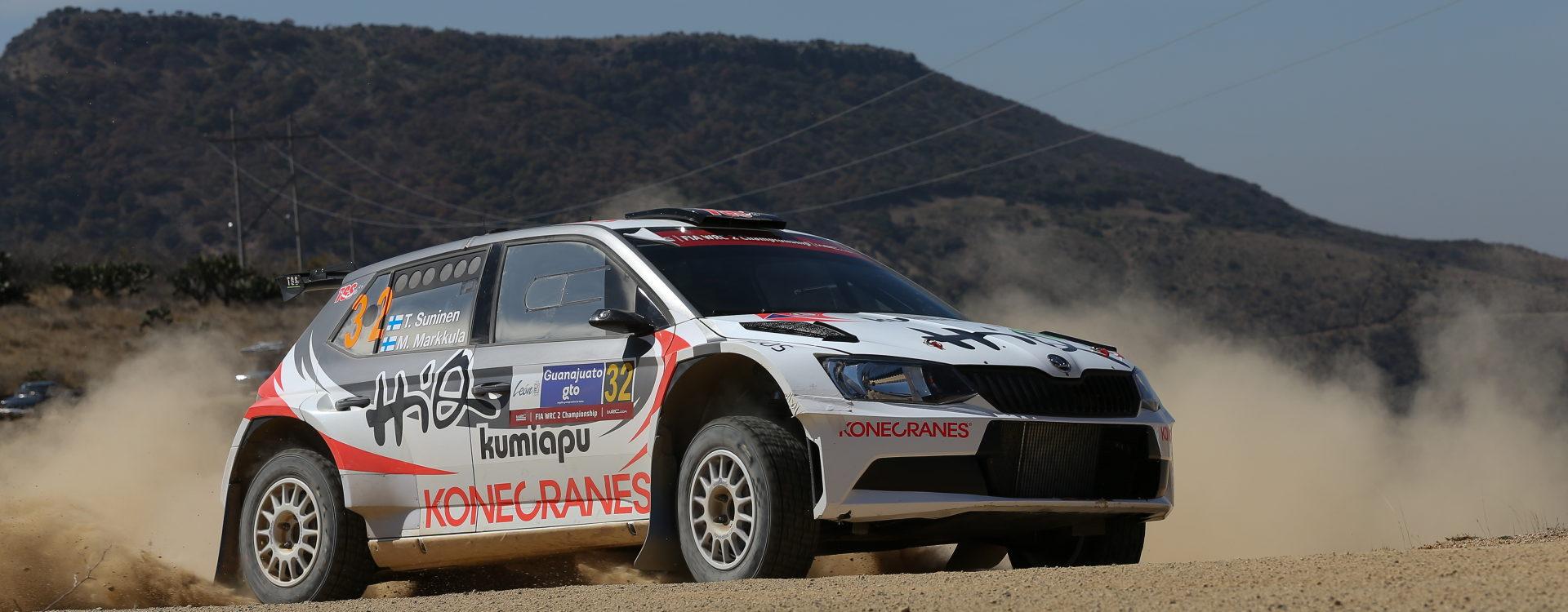 Ten ŠKODA Fabia R5 cars on the entry list of the Rally de Portugal