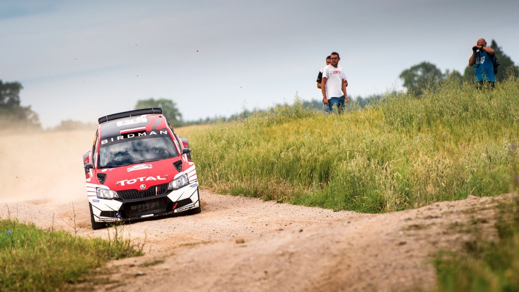 Hubert Ptaszek / Maciej Szczepaniak, ŠKODA FABIA R5, The Ptock. Rally Poland 2016