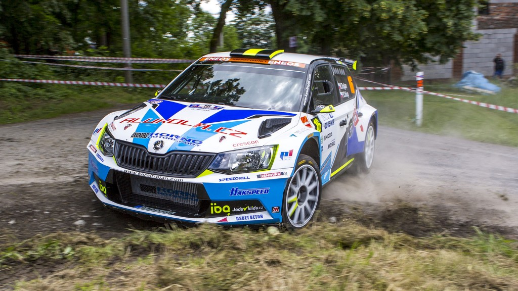 Karel Trojan jun. / Petr Chlup, ŠKODA Fabia R5, Korno Motorsport. Rally Bohemia 2016