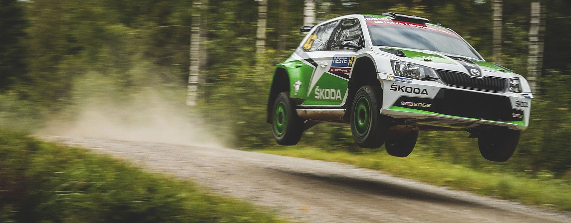 WRC Finland Long Jumps High Speed Just Rally Classic ŠKODA - Wrc sweden 2016 map