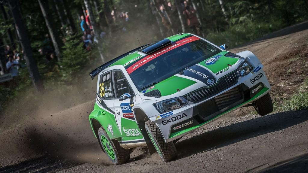Esapekka Lappi / Janne Ferm, ŠKODA Fabia R5, ŠKODA Motorsport. Rally Finland 2016.