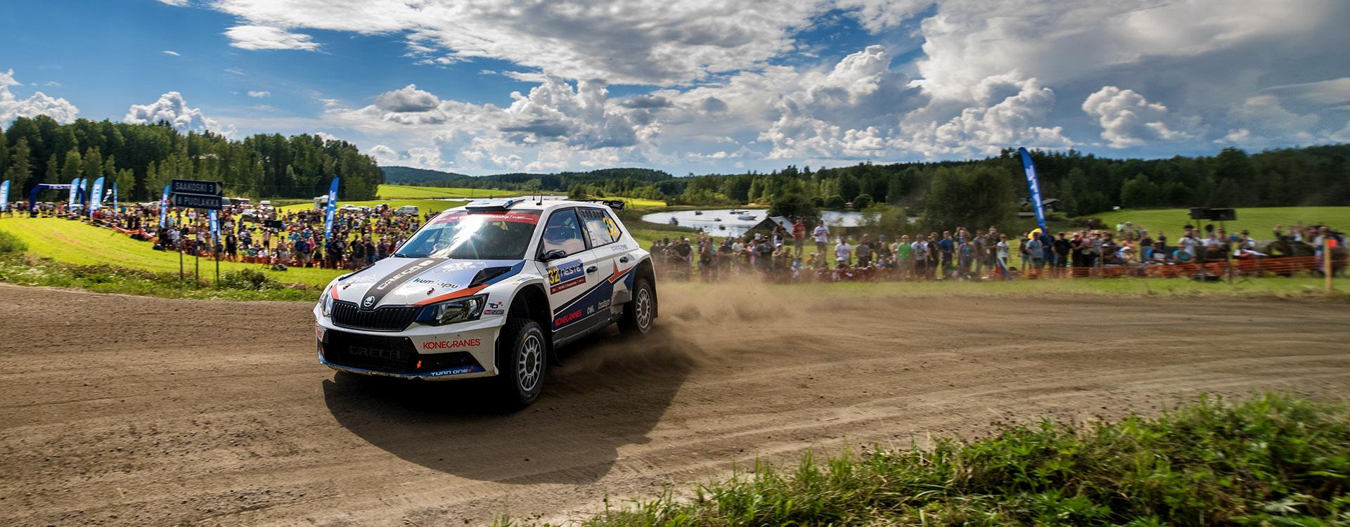 WRC Finland: Teemu Suninen closes on WRC2 championship leader