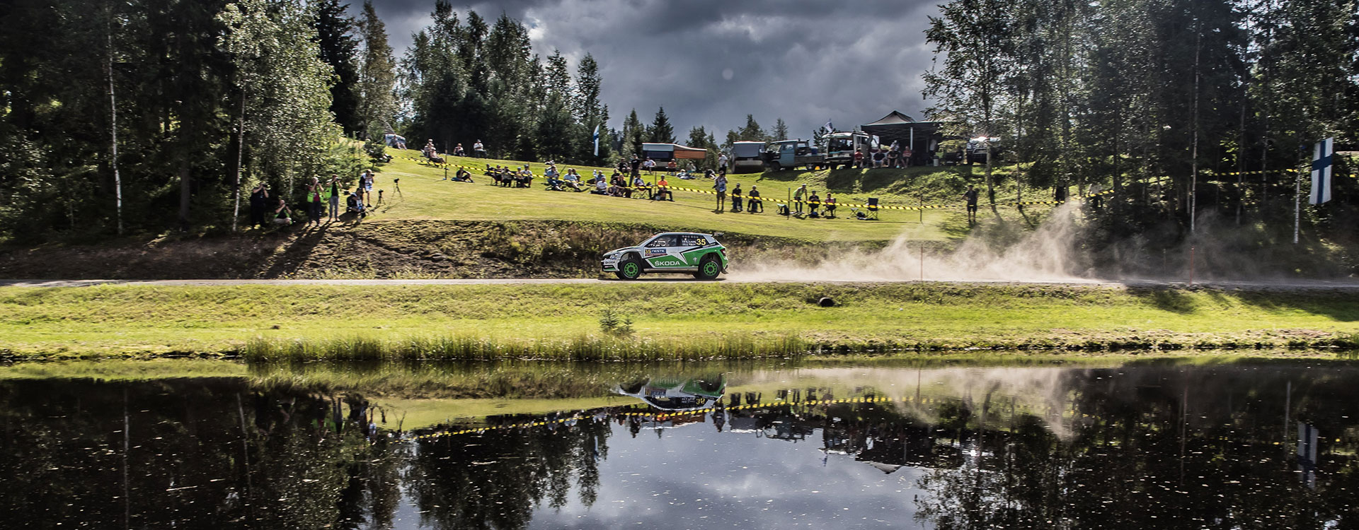 VIDEO: ŠKODA Motorsport at the Rally Finland