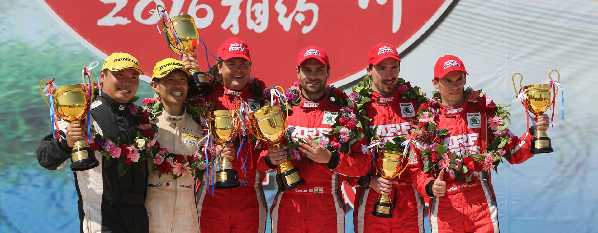 APRC: ŠKODA wins again at the desert rally in China