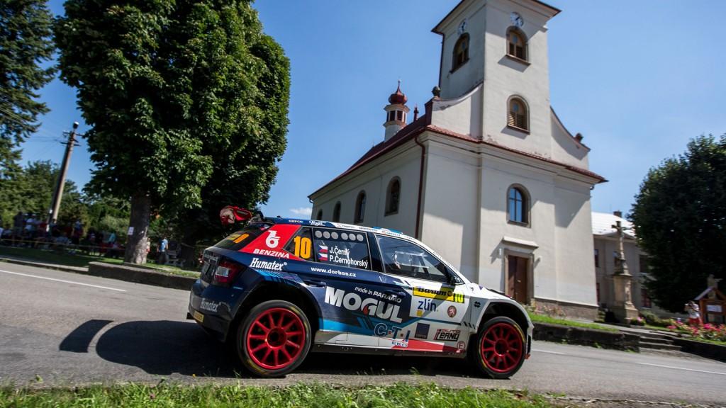 Jan Černý / Petr Černohorský jun., ŠKODA FABIA R5, Mogul Czech National Team. Barum Czech Rally Zlín 2016