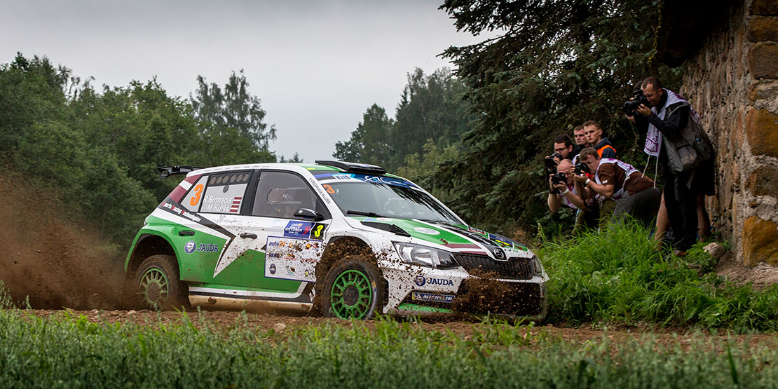 Ralfs Sirmacis Arturs šimins škoda Fabia R5 Sports Racing