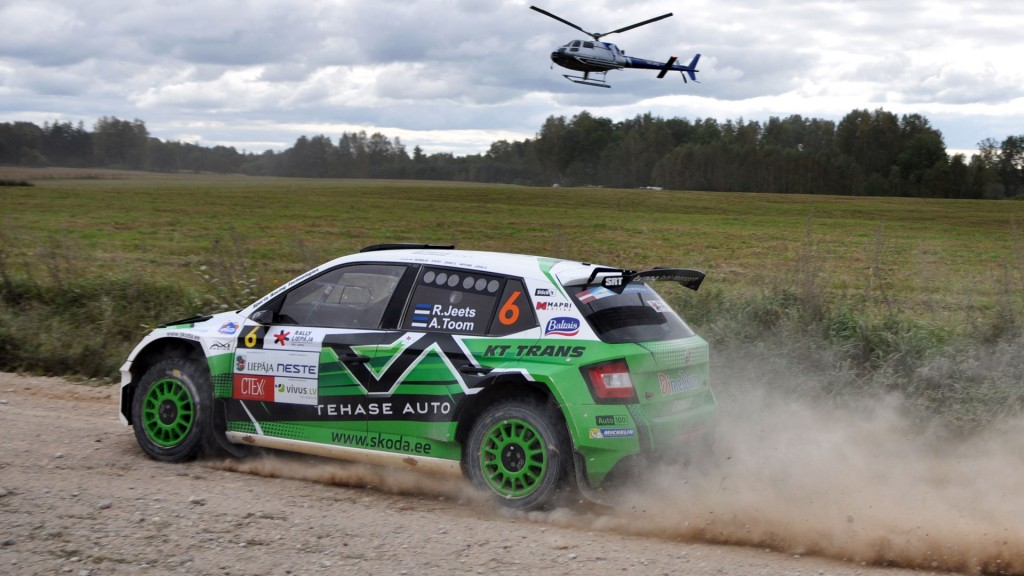 Raul Jeets / Andrus Toom, ŠKODA FABIA R5, Sports Racing Technologies. Rally Liepaja 2016