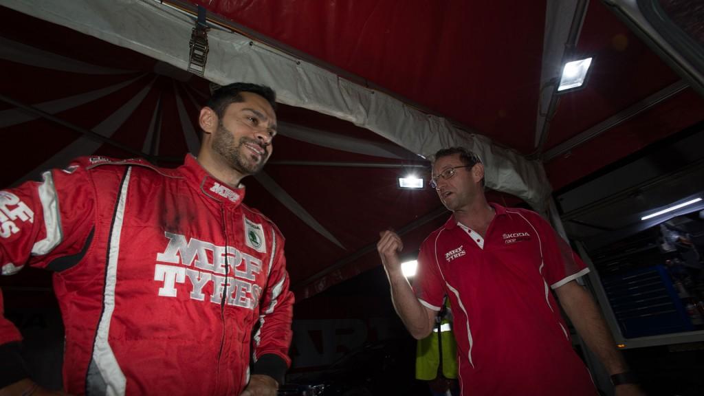 Gaurav Gill, ŠKODA FABIA R5, Team MRF. Rally Hokkaido 2016