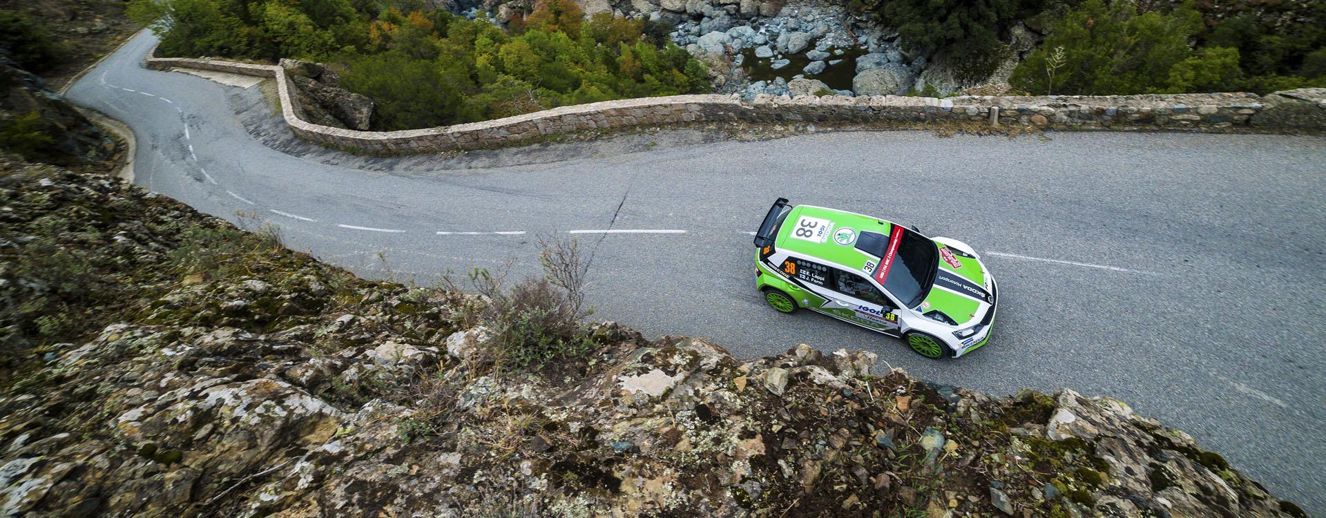 Tour De Corse Rally Of Corners ŠKODA Motorsport - Wrc sweden 2016 map