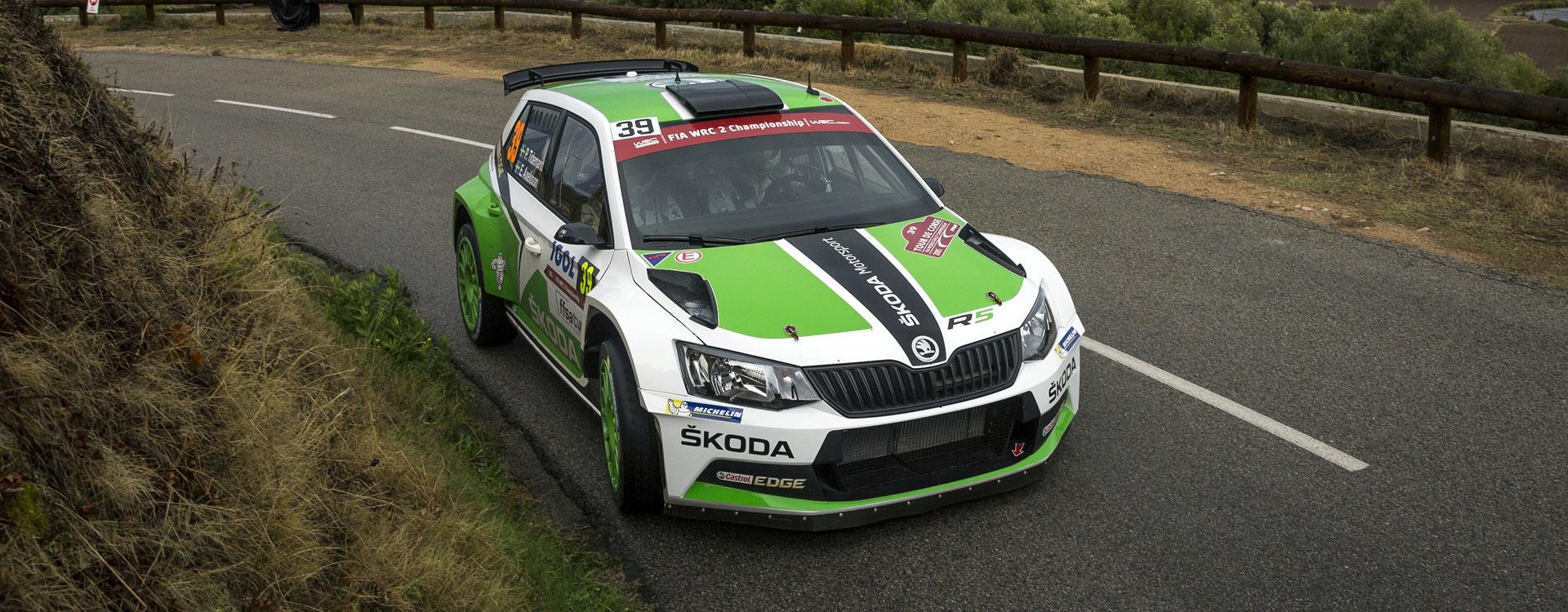 video tour de corse rallye de france 2016 preview video koda motorsport. Black Bedroom Furniture Sets. Home Design Ideas