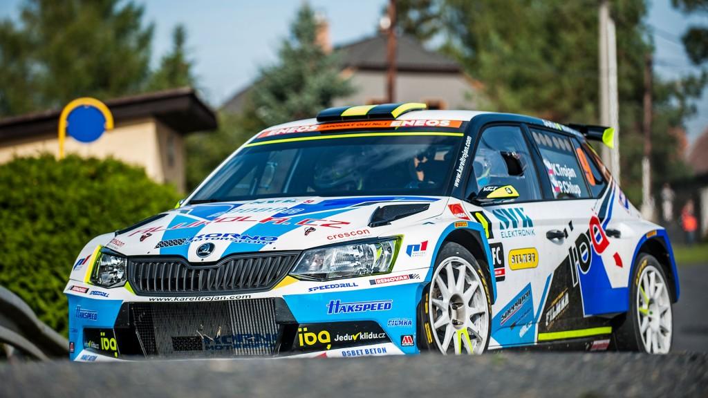 Karel Trojan jun. / Petr Chlup, ŠKODA FABIA R5, Korno Motorsport. SVK Rally Příbram 2016