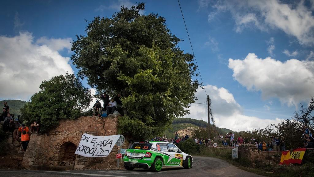 Pontus Tidemand / Jonas Andersson, ŠKODA FABIA R5, ŠKODA Motorsport. RallyRACC Catalunya – Costa Daurada 2016