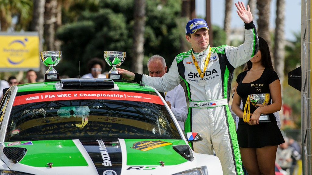 Jan Kopecký, ŠKODA FABIA R5, ŠKODA Motorsport. RallyRACC Catalunya – Costa Daurada 2016