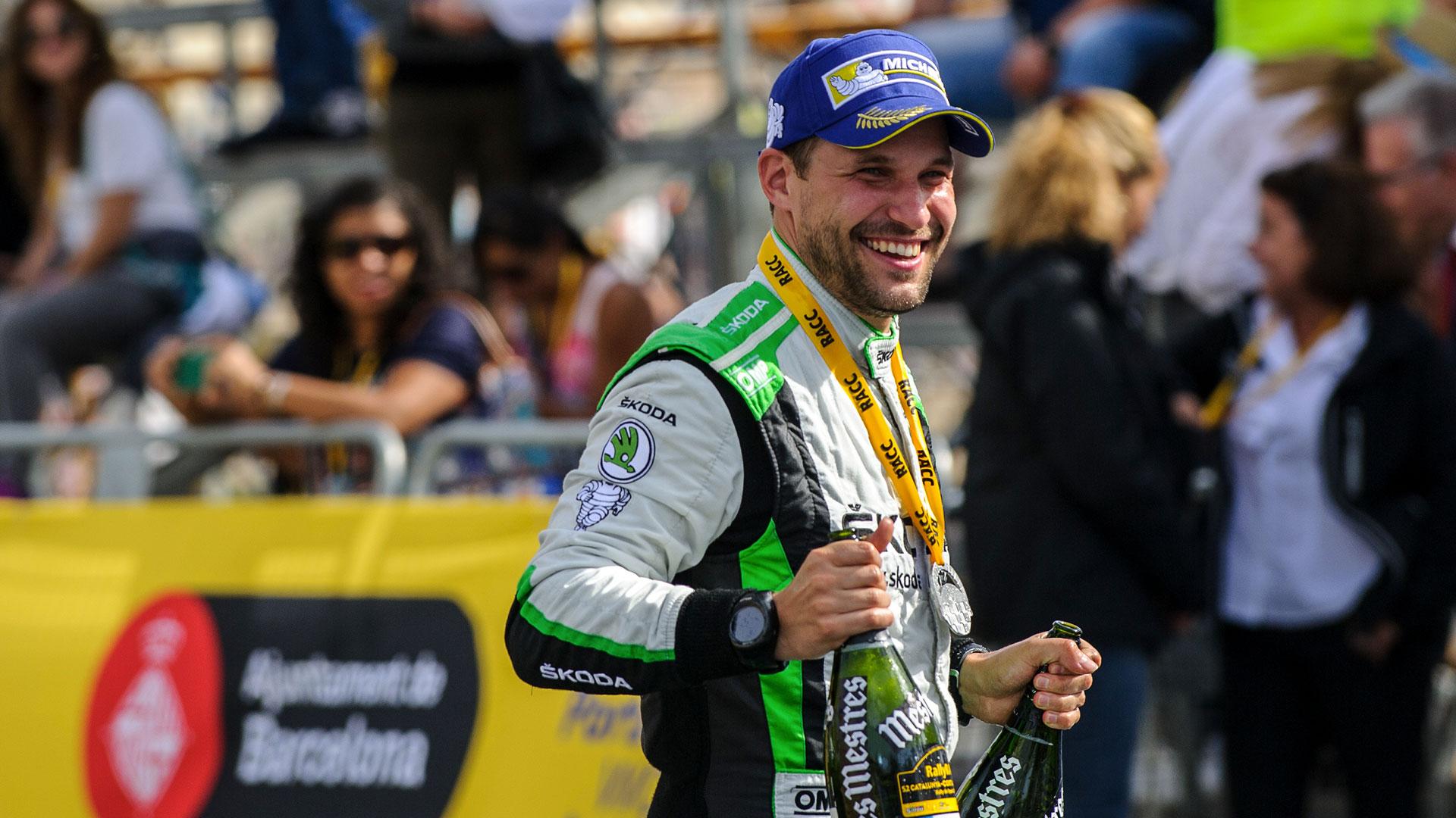 Pavel Dresler, ŠKODA FABIA R5, ŠKODA Motorsport. RallyRACC Catalunya - Costa Daurada 2016