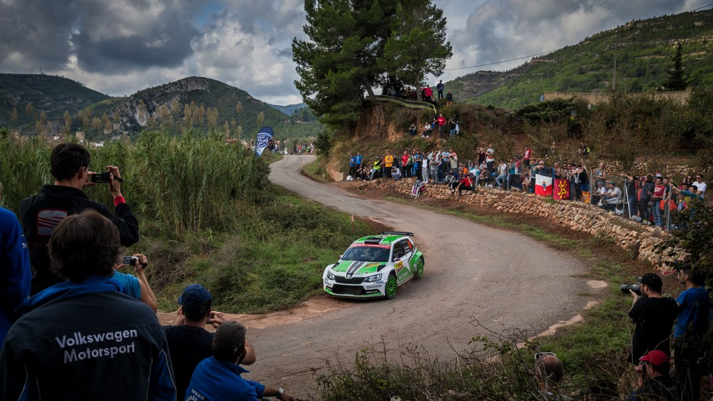 Jan Kopecký / Pavel Dresler, ŠKODA FABIA R5, ŠKODA Motorsport. RallyRACC Catalunya – Costa Daurada 2016