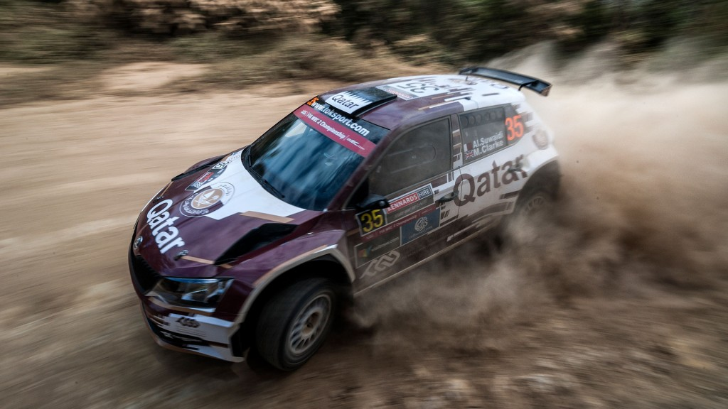Khalid Mohammad Al-Suwaidi / Marshall Clarke, Culture & Sport Qatar Rally Team, ŠKODA FABIA R5. Kennards Hire Rally Australia 2016