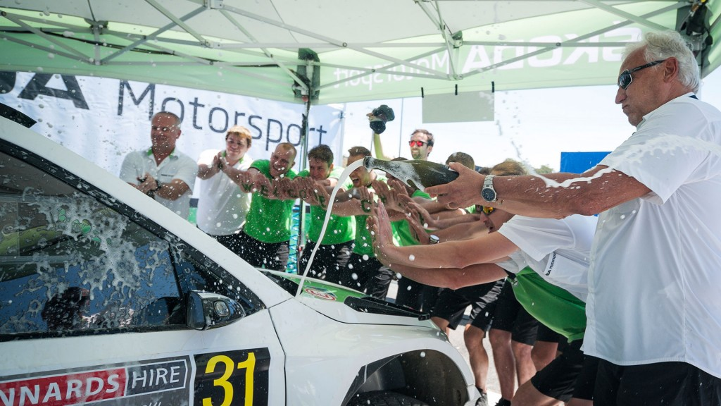 ŠKODA Motorsport Team, Kennards Hire Rally Australia 2016