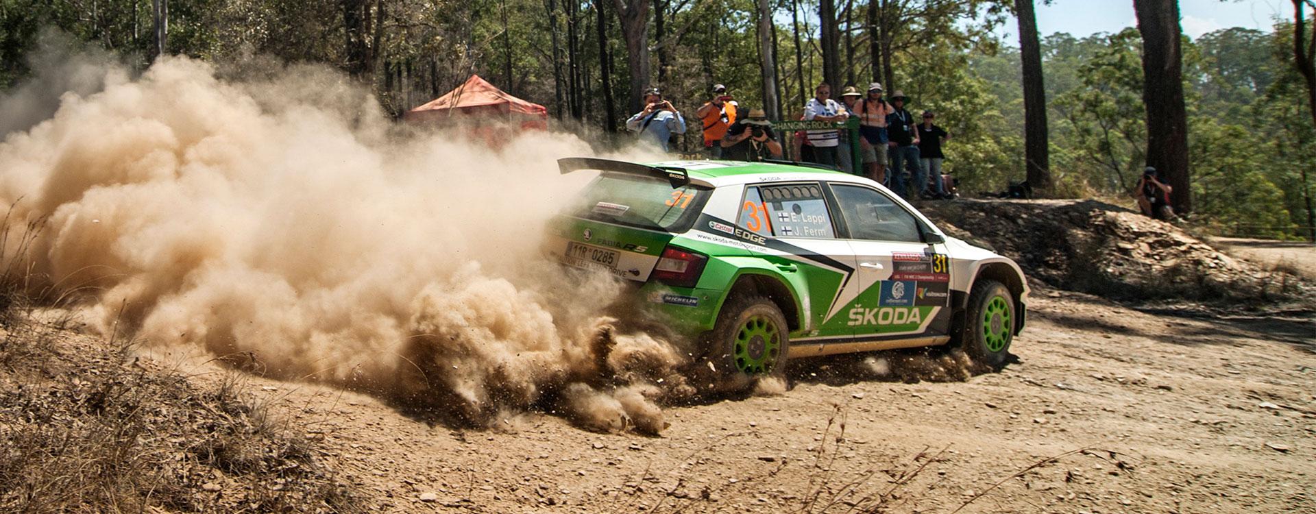 VIDEO: ŠKODA Motorsport na Australské rally 2016