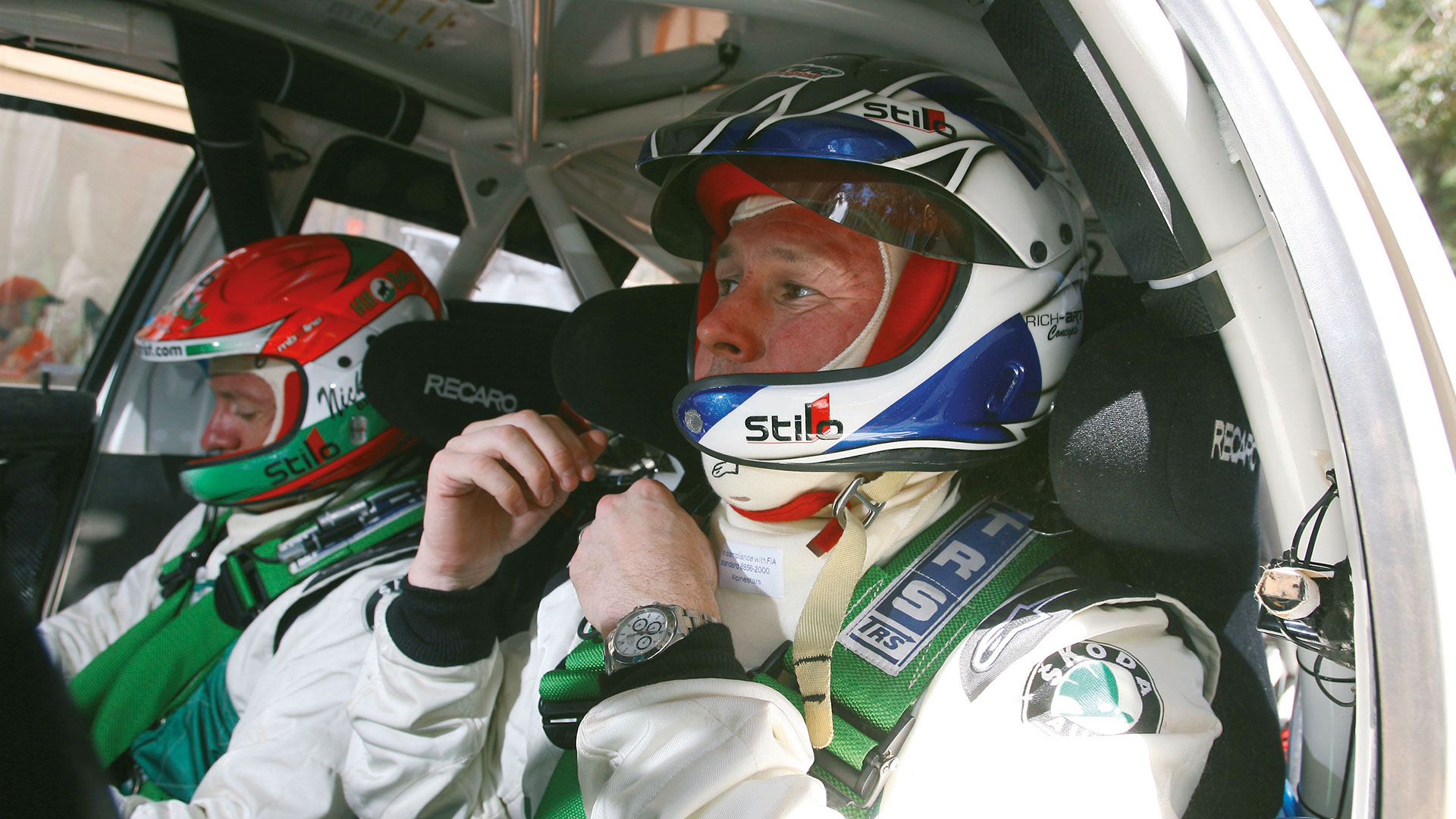Colin McRae: The Flying Scotsman who made his WRC swansong in a FABIA WRC