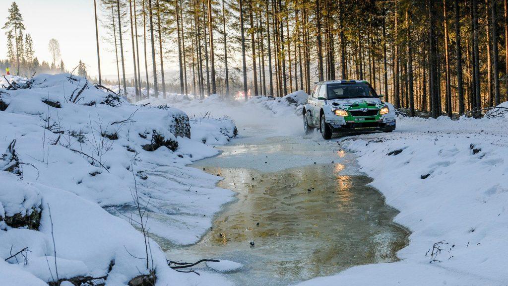 Pontus Tidemand / Göran Bergsten, ŠKODA FABIA S2000. Rally Sweden 2012
