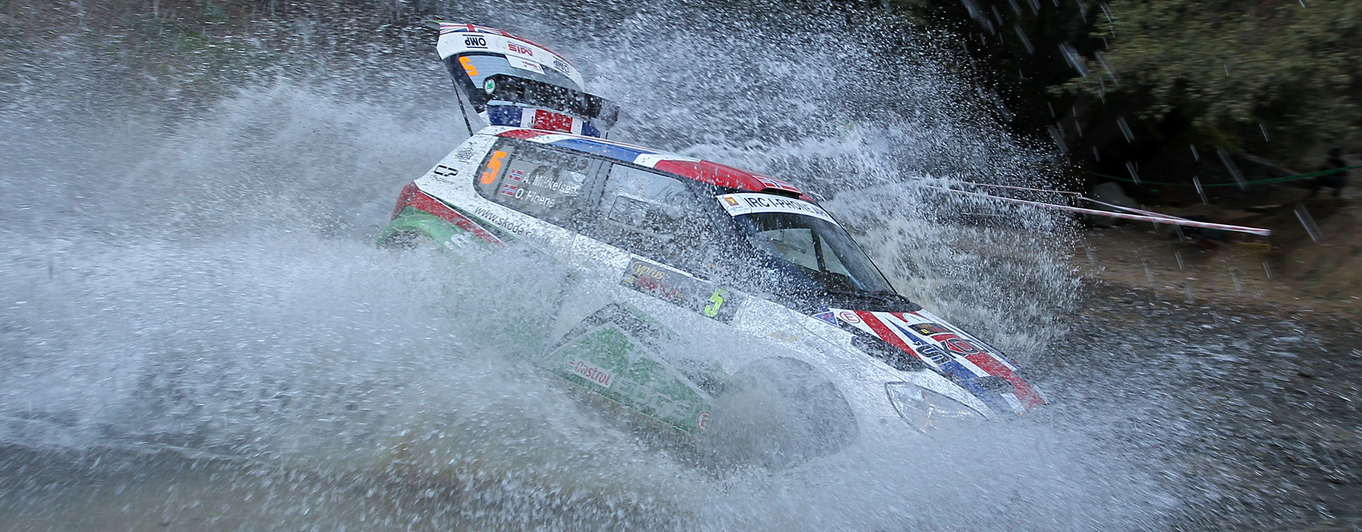 From the Archives: Andreas Mikkelsen and ŠKODA