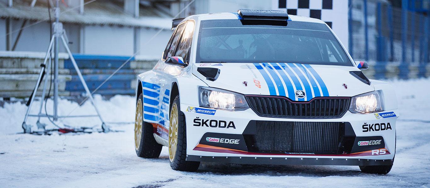ŠKODA si na Rallye Monte Carlo připomene legendární triumf před 40lety