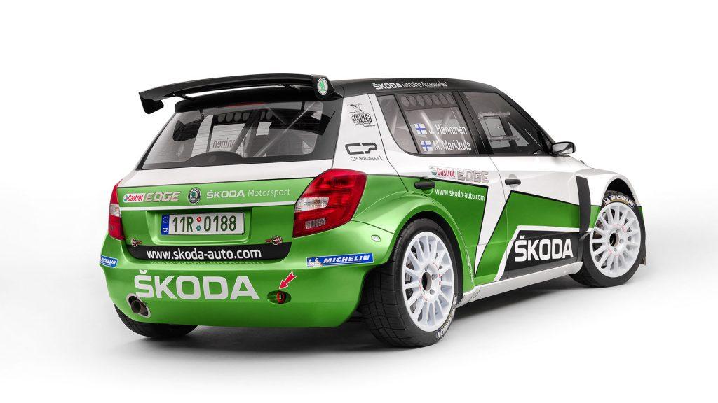 ŠKODA FABIA S2000, Modelový rok 2012