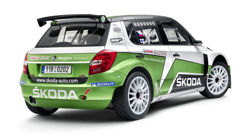 ŠKODA FABIA S2000, Modelový rok 2013
