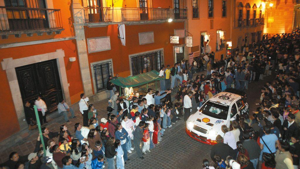 Armin Schwarz / Klaus Wicha, ŠKODA FABIA WRC, ŠKODA Motorsport. Rally Mexico 2005