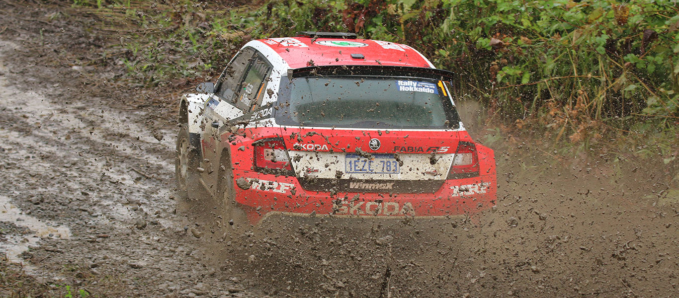 APRC India: teammates Gill and Veiby competing for APRC honours