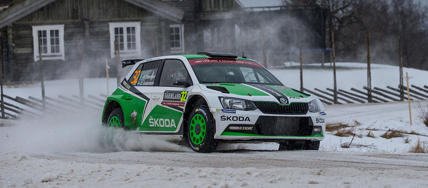WRC Sweden: Home rally for Tidemand and Andersson
