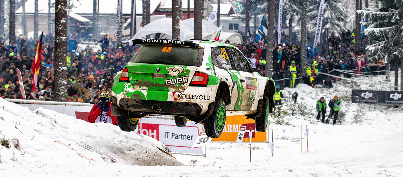 WRC Sweden: Five ŠKODA Customer Teams ready to tackle frozen roads