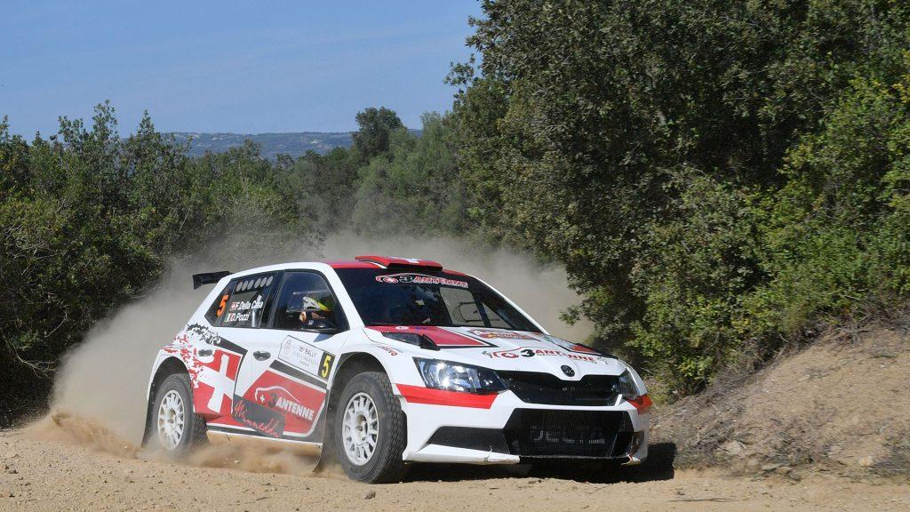 Federico Della Casa / Domenico Pozzi, ŠKODA FABIA R5. Rally Costa Smeralda - Sardegna 2016 (Foto: Acisport)