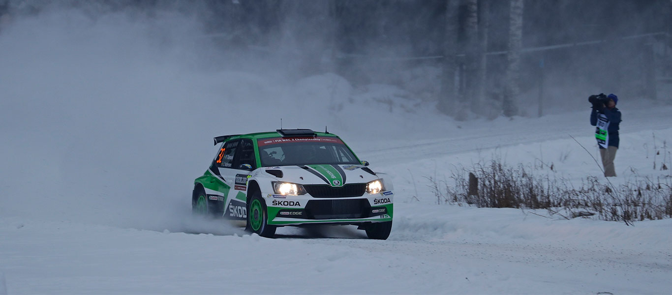 WRC Sweden: Tidemand leads the way at his home World Championship rally
