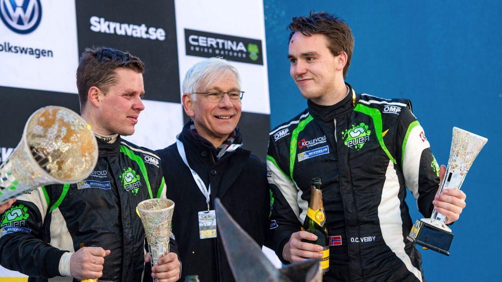 Ole Christian Veiby / Stig Rune Skjærmoen, ŠKODA FABIA R5, Printsport Oy. Rally Sweden 2017