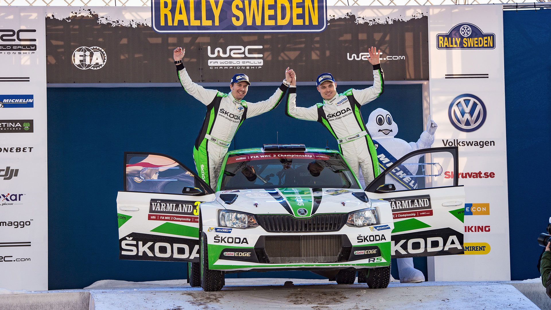 Pontus Tidemand - ŠKODA Motorsport