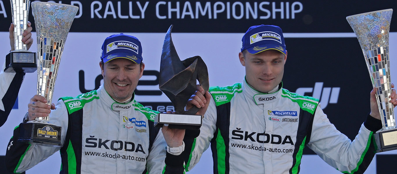 WRC Sweden: Tidemand takes acclaimed home win in the ŠKODA FABIA R5