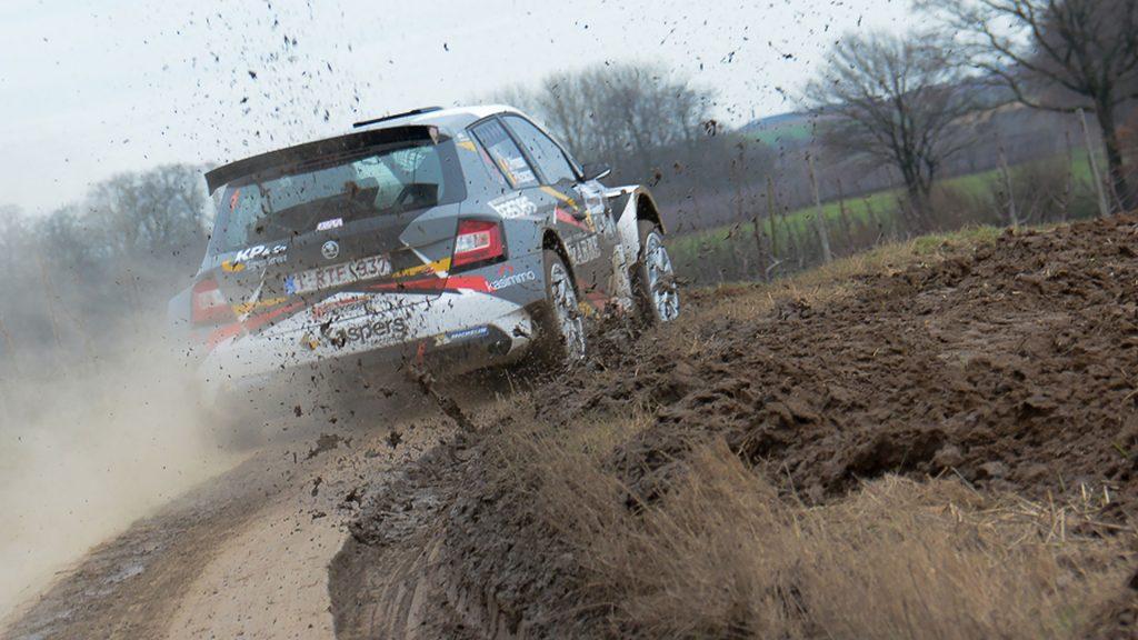 Kris Princen / Peter Kaspers, ŠKODA FABIA R5, Bernard Munster Autosport. Rally van Haspengouw 2017 (Foto: BRC Media)