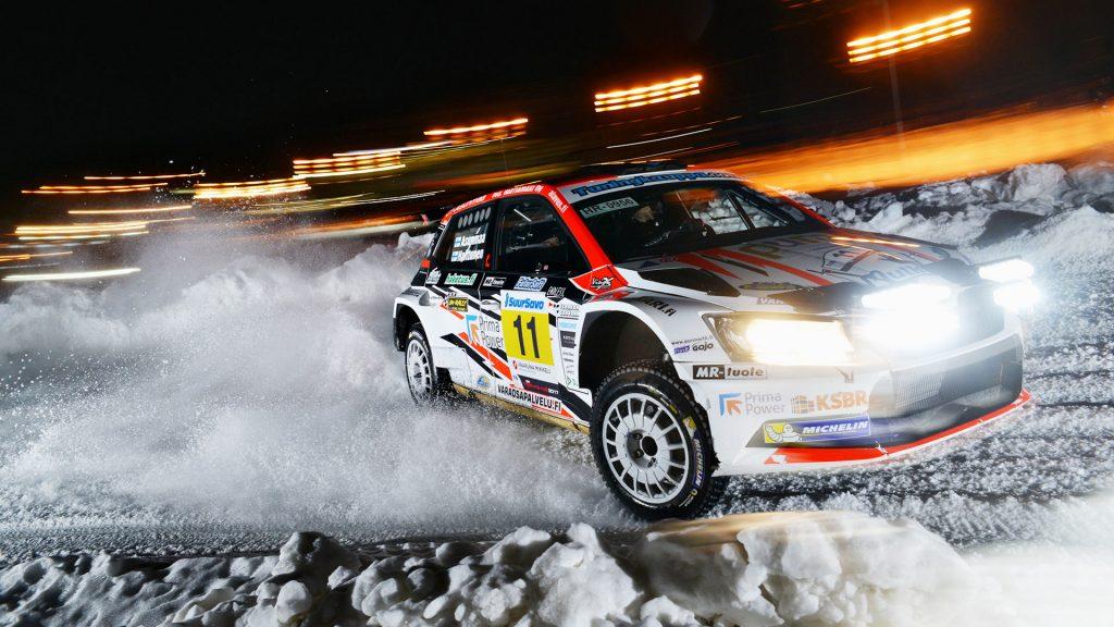 Teemu Asunmaa / Jonne Halttunen, ŠKODA FABIA R5, Hannu's Rally Team. Vaakuna Ralli 2017