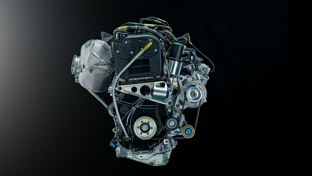 Motor ŠKODA FABIA R5