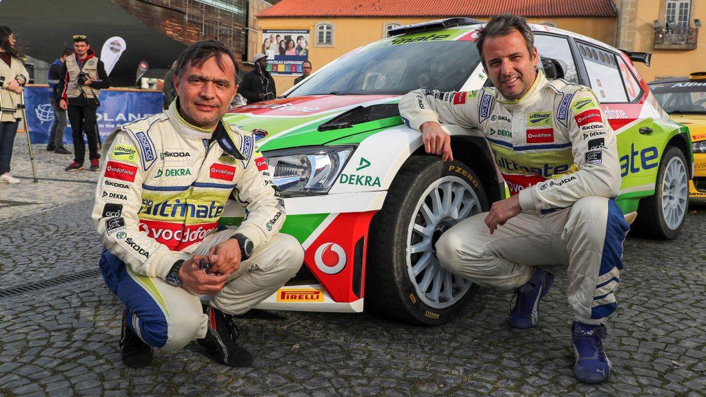 Miguel Barbosa / Miguel Ramalho, ŠKODA FABIA R5, BP Ultimate Vodafone ŠKODA Team. Rali de Castelo Branco 2017