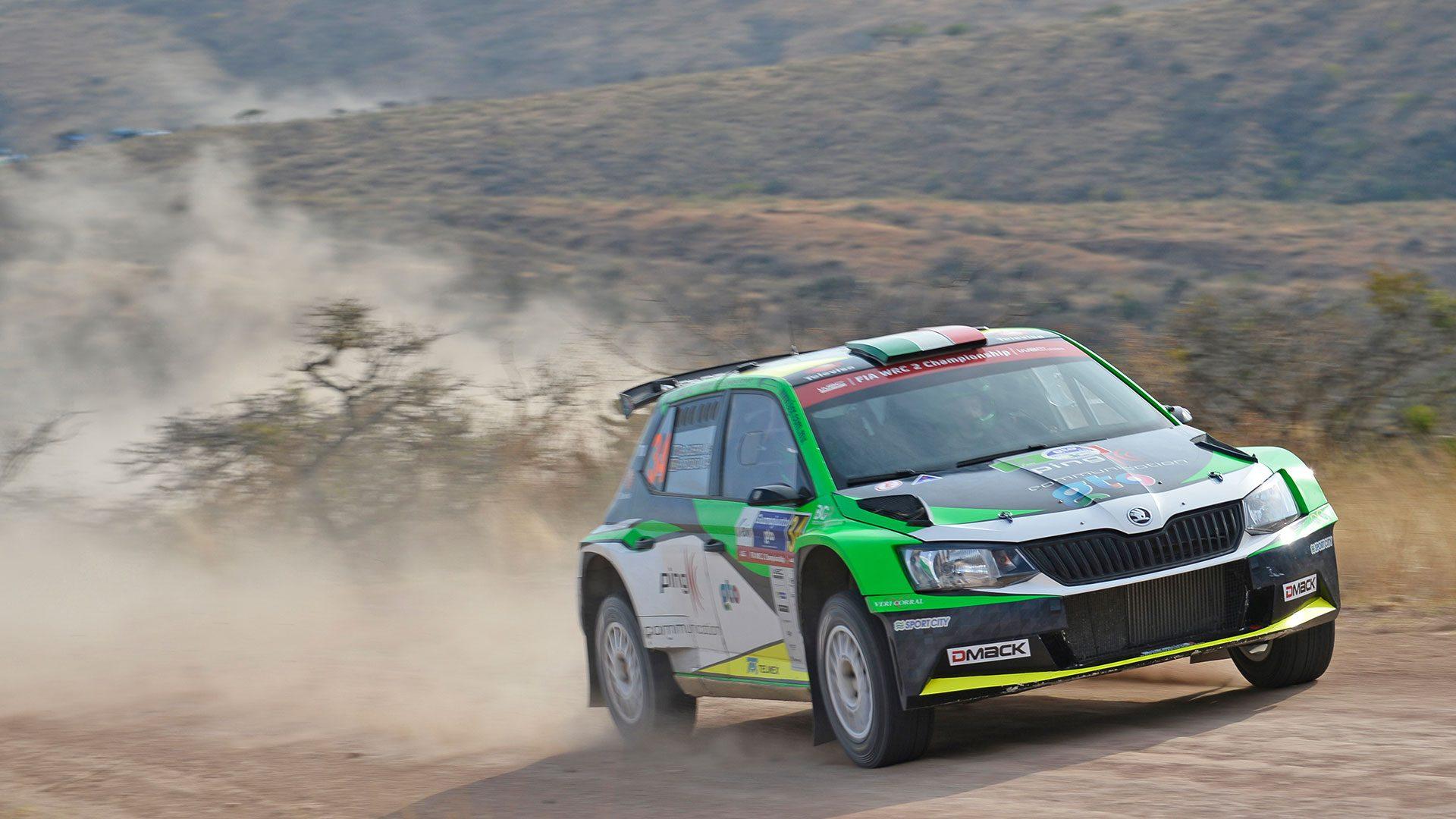 Benito Guerra jr. / Borja Rozada, ŠKODA FABIA R5, Motorsport Italia. Rally Guanajuato Mexico 2017