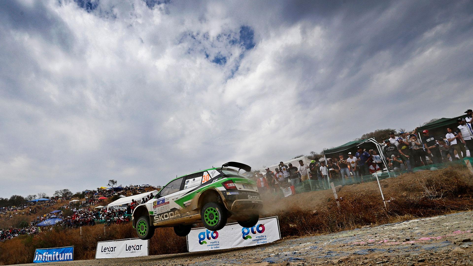 Pontus Tidemand / Jonas Andersson, ŠKODA FABIA R5, ŠKODA Motorsport. Rally Guanajuato Mexico 2017