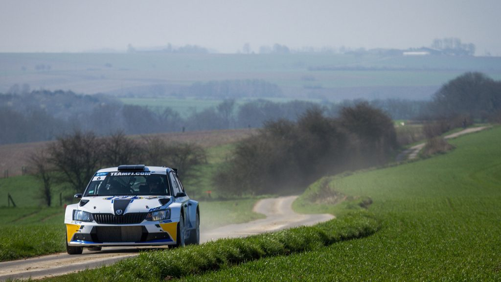 Vincent Dubert / Alexandre Coria, ŠKODA FABIA R5, Team FJ. Rallye Le Touquet - Pas-de-Calais 2017