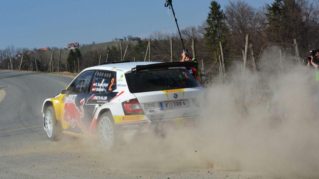 Raimund Baumschlager / Pirmin Winklhofer, ŠKODA FABIA R5, BRR Baumschlager Rallye & Racing Team. Rebenland Rallye 2017