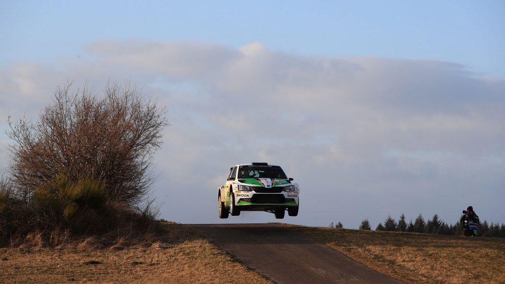 Fabian Kreim / Frank Christian, ŠKODA FABIA R5, ŠKODA AUTO Deutschland. Saarland-Pfalz Rallye 2017